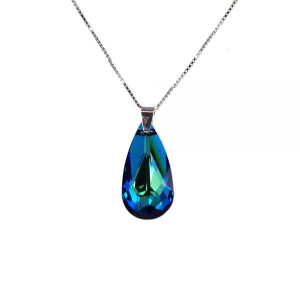 Ogrlica Solza Bermuda Blue