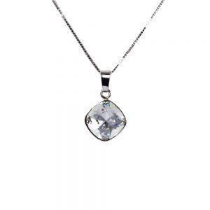 Ogrlica Rivoli Square Crystal