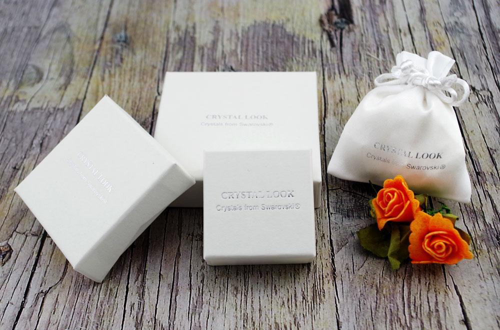 Srerbni nakit Crystal Look - darilna embalaža