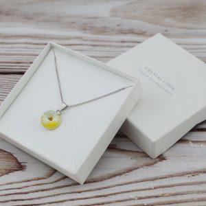 Srebrna ogrlica Rivoli Sunshine Swarovski