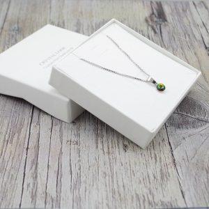 Srebrna ogrlica Cut Vitrail Swarovski