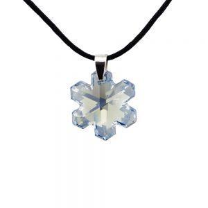 Ogrlica Snowflake Swarovski