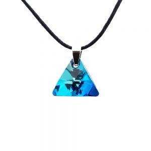 Ogrlica Triangle Swarovski